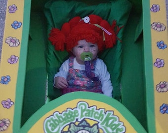 Cabbage Patch Hat/Cabbage Patch Wig (fits babies to children)