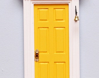 Yellow Fairy Door / Tooth Fairy Door