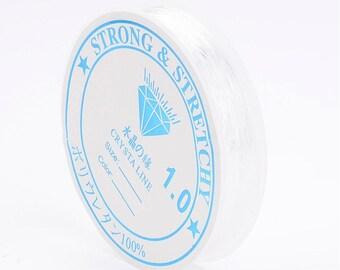 Spool of thread elastic Crystal 1.0