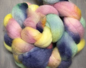 Dreaming - Hand Dyed BFL Wool Top Spinning Fiber