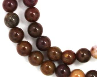 Pietersite Beads - 6mm Round