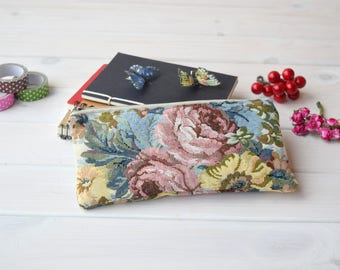Cute school supply, School supply, Zipper Pouch, gadget pouch, Cute pencil case, Pencil, project bag, cool Pouch, Small, sac a projet