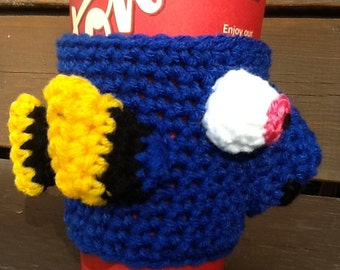 Finding Dory-inspired Cup Cozy