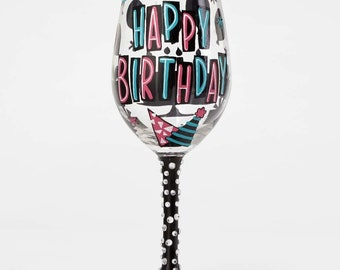 Lolita Birthday Wine Glass - Happy Day