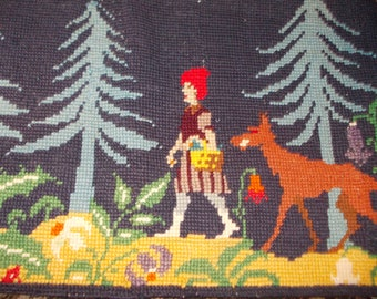 Little Red Riding Hood Tapestry