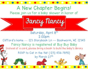 Storybook Baby Shower Invitation [digital]