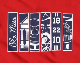 Kids 'Ole Miss Banners' T-Shirt