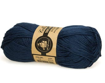 14 Marine Blue Mayflower Organic Cotton 8/4 50g