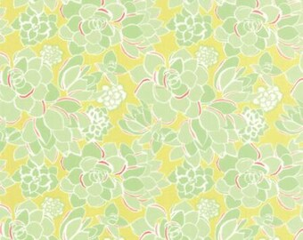 Canyon Succulent Verde by Kate Spain from Moda- 1 yard