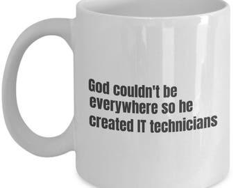 IT Technician funny mug, IT Technician funny mug, IT Technician, gift idea