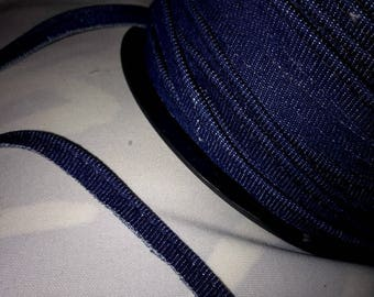 2 meters of piping jean thick 5 mm wide