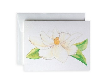 Magnolia Greeting Card or Notecard Set