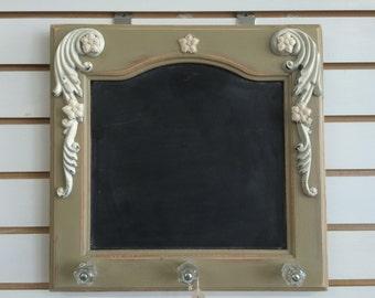 Stylish Chalkboard and Coat Hanger