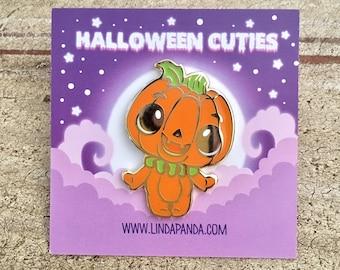 Pumpkie the Pumpkin Hard Enamel Lapel Pin