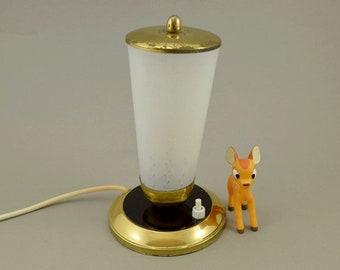 Vintage mid century bedside lamp table side lamp 50s, mid century modern