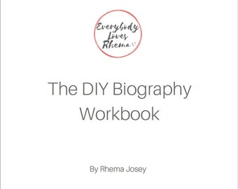 DIY Biography Workbook