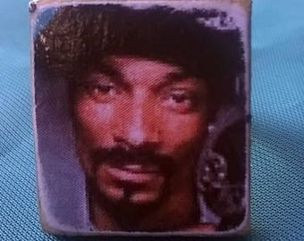 Snoop Dogg Decoupage Ring