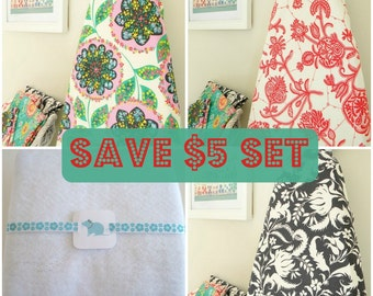Save 5 Dollars Set - Ironing Board Cover and Pad set