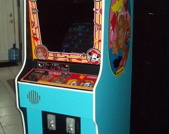 DONKEY KONG Fully Restored, Original Video Arcade Game with Warranty and Support