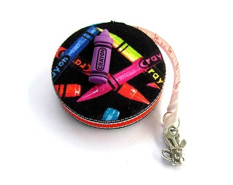 Tape Measure Crayons Retractable Measuring Tape