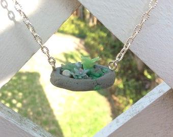Succulent Planter Necklace