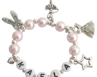 Ballerine bijoux Ballet perle rose filles danser considérant les filles Ballet Bracelet Ballet Pointe chaussures Bracelet livraison gratuit aux États-Unis