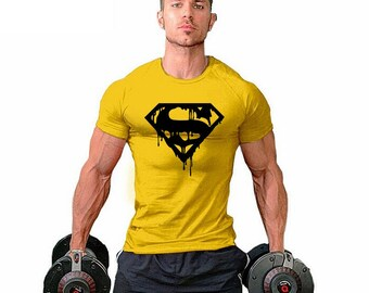 DRIPPING S  T-shirt / Men's Gym T-shirt Super Soft Feel - Premium Quality ! - Fast Delivery !