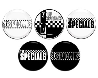 5x The Specials Band Ska 25mm / 1 Inch D Pin Button Badges