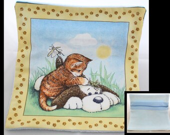 Cat Dog Cow Pillow Covers