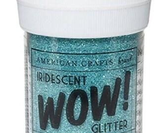 Glitter glitter WOW IRIDESCENT - ROBIN egg color