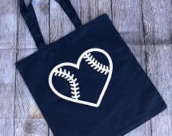 Baseball Tote, Baseball Bag, Baseball Mom Bag, Baseball Mom Tote