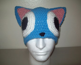 cat hat with eyes