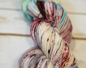 "Superwash sock yarn ""Not a Queen, a Khaleesi""  80/20 merino/nylon ""nymph"" blend"