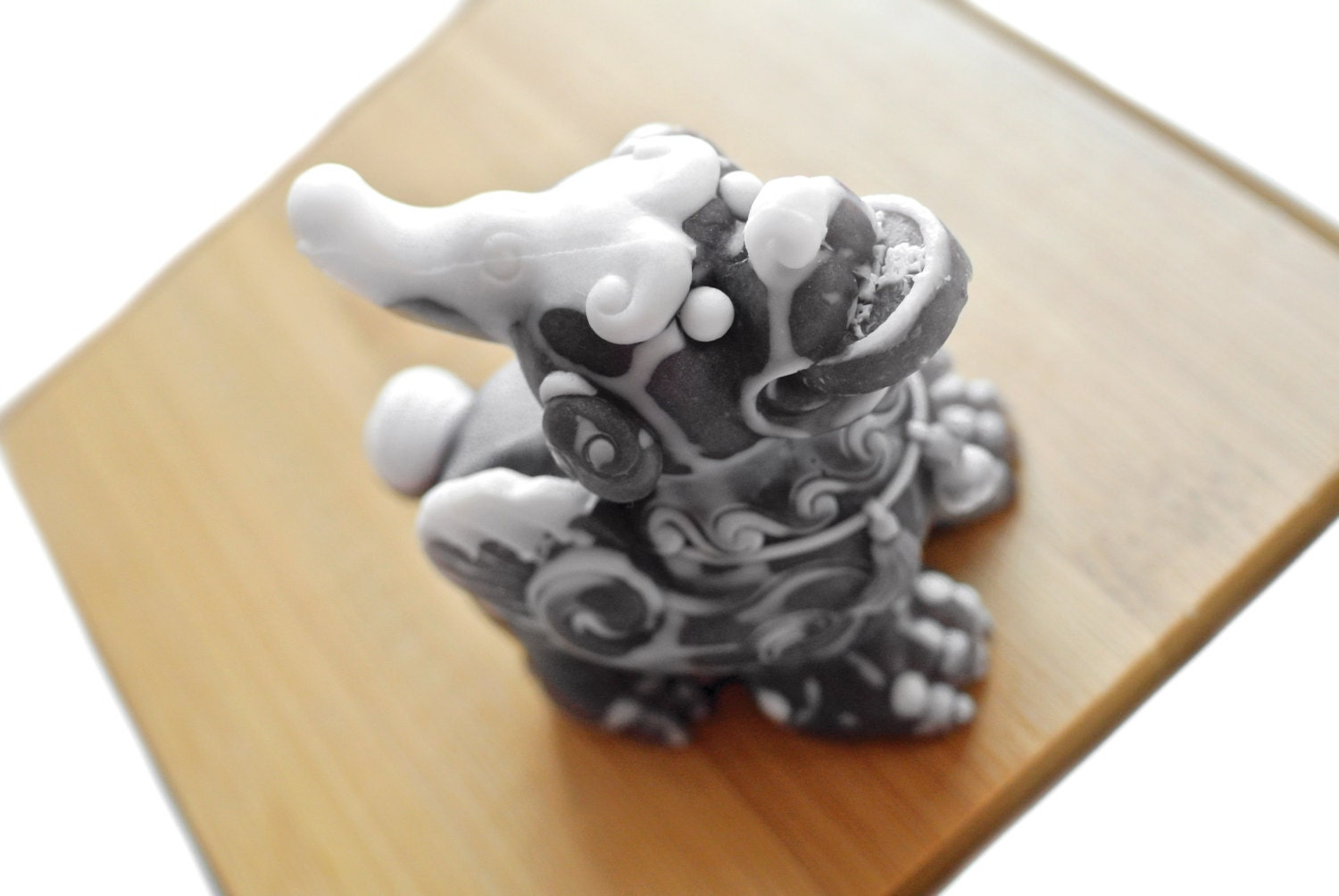 Pi Yao Soap / Chinese Wealth Guardian Dragon with Coin Soap