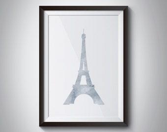 eiffel tower print, custom print, paris print, custom paris print, little girl decor, home decor, paris decor, paris home decor
