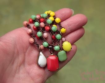 Bohemian Crochet Pattern, Jewelry Tutorials, Crochet Jewelry Tutorial, Beaded Necklace Tutorial, DIY Jewelry Beads, Crochet Bracelet  (1)