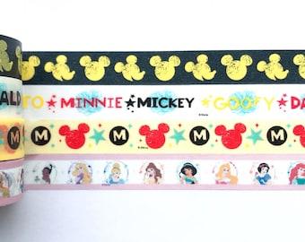 "Mouse, Princess Washi Tape 24"" Sample"