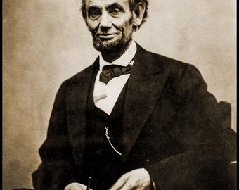 Photo of Abraham Lincoln by Alexander Gardner, 1865