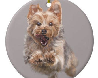 Cairn Terrier Wait for Me Ornament Customizable With Name!