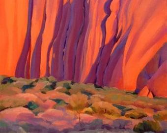 Uluru study Central Australia