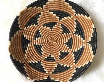 Large Vintage Coil Basket
