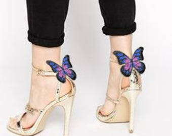 Butterfly- shoe clips