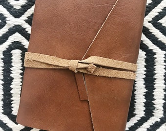 Leather Polaroid Instax Mini photo album & travel journal