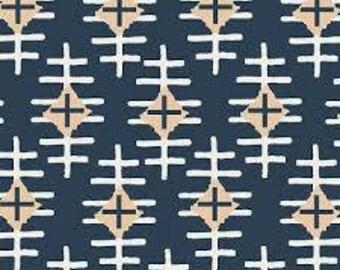 Sale! Art Gallery Fabrics Knit Fabric in Path Marker Slate. Jersey Fabric. Kids Jersey Fabric