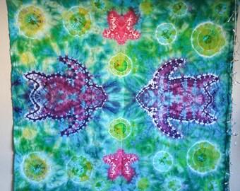 "Tie Dye Tapestry: ""Under the Sea"""