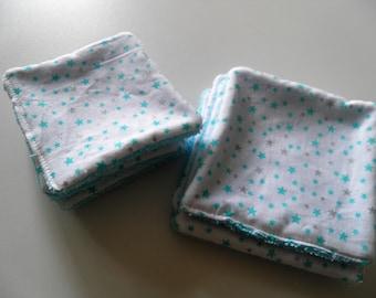 """Blue stars"" wipes individually"