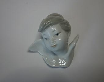 Lladro Seraph's Head No 1