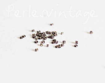 seed beads silver purple, creative supply, seed beads, beading, 5g, 2.5 mm