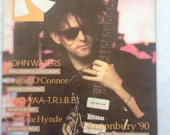Novi Ritam # 1 Rare Ex-Yugoslavian Rock Magazine September 1990