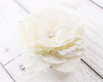 flower hairpiece, crystal hair clip, wedding hair accessories, flower headpiece, rhinestone hair clip, bridal headpiece, wedding headpiece